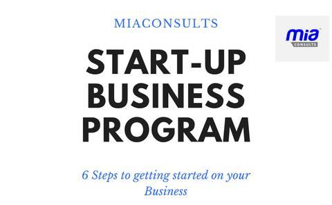 Start-Up Business Program