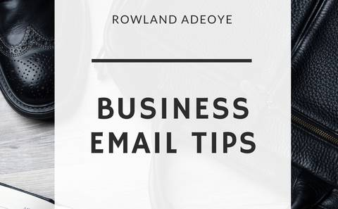 Business Email Tips