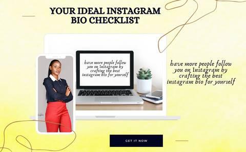 Your Ideal Instagram Bio Checklist