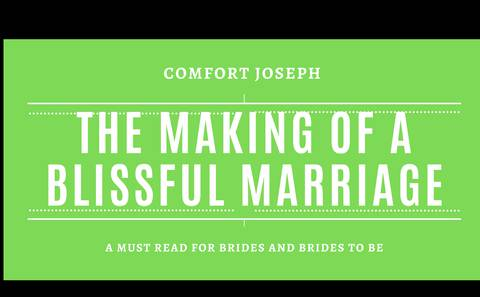 The Making Of A Blissful Marriage. A must read for brides and brides to be.
