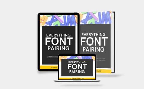 Everything font pairing