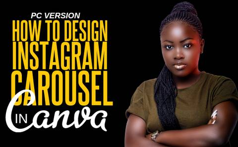 HOW TO DESIGN SEAMLESS INSTAGRAM CAROUSEL IN CANVA