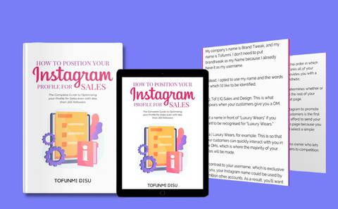 How to Position your Instagram Profile for Sales